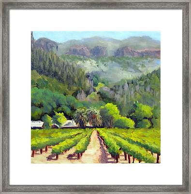 Palisades Drive Framed Print by Char Wood