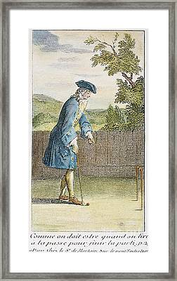 Pall Mall, 1717 Framed Print