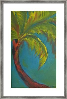 Palm Fusion Framed Print by Lacey Wingard