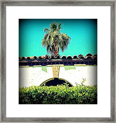 Palm Springs Desert Spanish 4 Framed Print by Randall Weidner