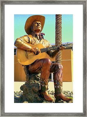 Palm Springs Gene Autry 2 Framed Print