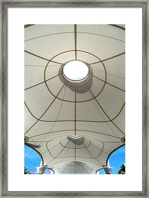 Palm Springs International Airport Sonny Bono Concourse Framed Print by Randall Weidner