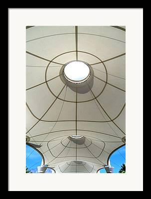 Sonny Bono Concourse Framed Prints