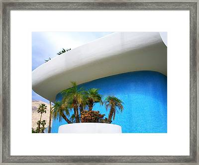 Palm Springs Modernism Framed Print by Randall Weidner