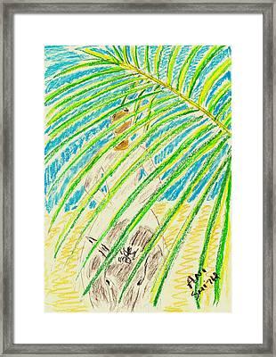 Palm Sunday Framed Print by Ani Todd Smith