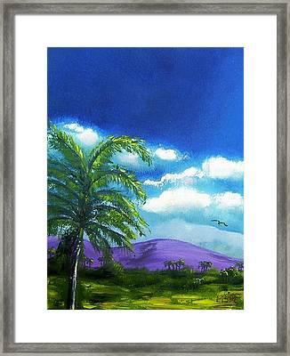 Palma Real Framed Print by Maria Soto Robbins