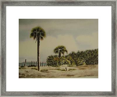 Palmettos Painting By Anna Barnwell Williams