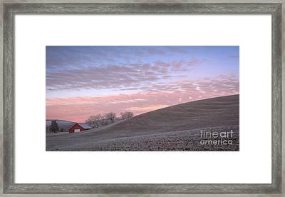 Palouse Dawn Framed Print