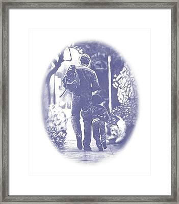 Pals Framed Print
