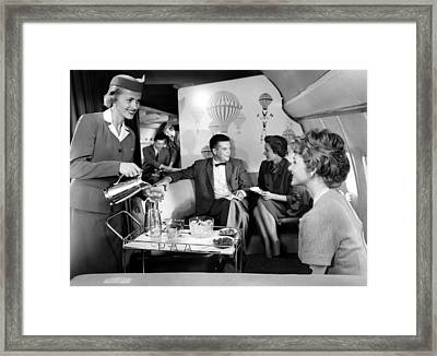 Pan Am Airlines Introduces The Boeing Framed Print by Everett