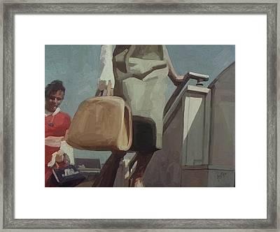 Pan American Airways Passengers Framed Print by Nop Briex