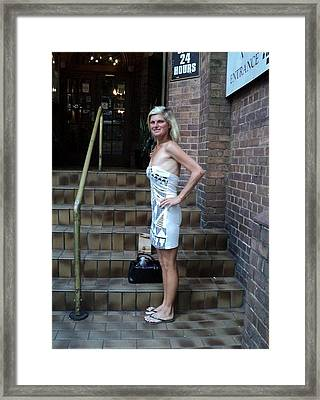 Pancake1 Framed Print by Camilla Hamilton