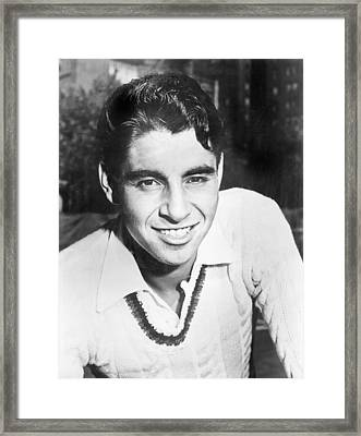 Pancho Gonzales, Tennis Player Framed Print by Everett