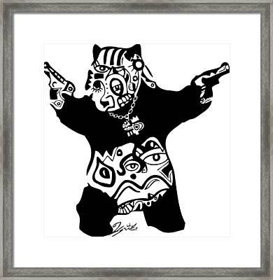 Pandameic Framed Print by Kamoni Khem