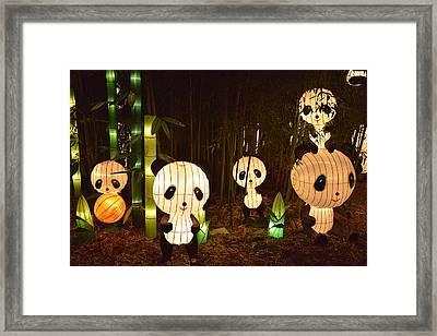 Pandamonium Framed Print by William Fields