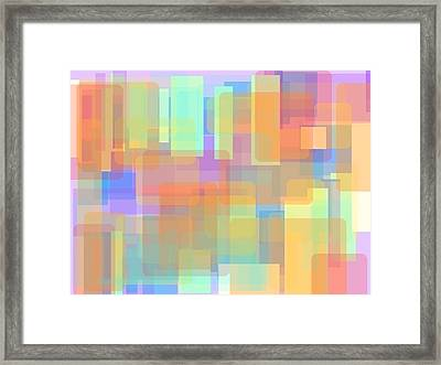Panes Of Existence Framed Print