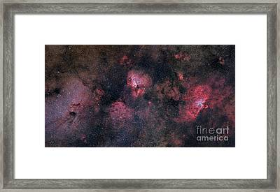 Panorama Near The Sagittarius Region Framed Print