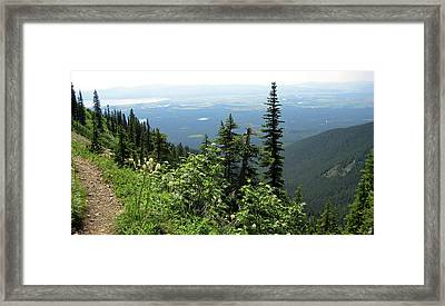 Panoramic Jewel Basin Montana Framed Print