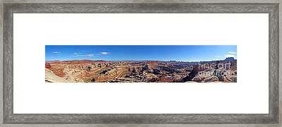 Panoramic Maze Framed Print by Scotts Scapes