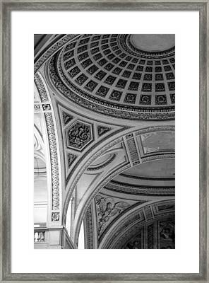 Pantheon Arches Framed Print