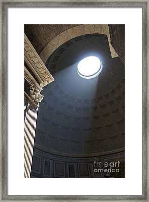 Pantheon. Rome Framed Print by Bernard Jaubert