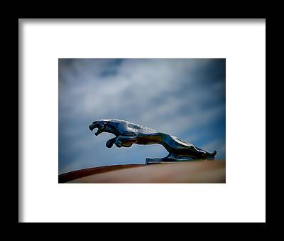 Vintage Hood Ornament Framed Prints