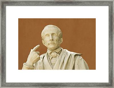 Paolo Savi, Italian Geologist Framed Print by Sheila Terry