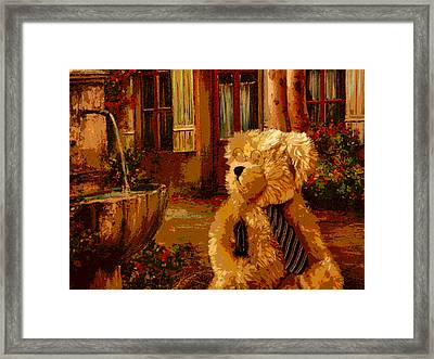 Papa Bear Framed Print by David Alvarez
