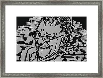 Papa Framed Print by William Cauthern