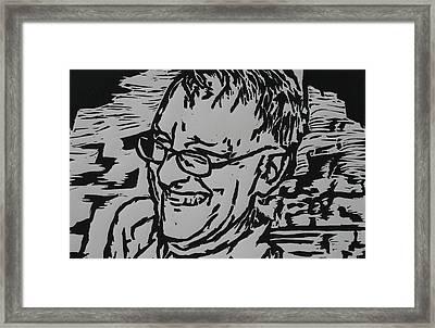 Papa Framed Print