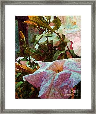 Paper And More Framed Print