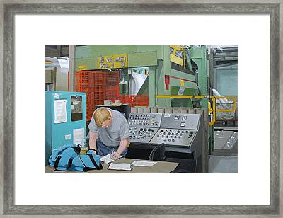 Paperwork Framed Print by Paul Chapman