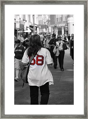 Paps Biggest Fan Framed Print by Greg DeBeck