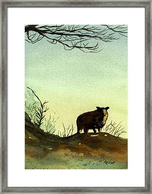 Parable Of The Lost Sheep Framed Print
