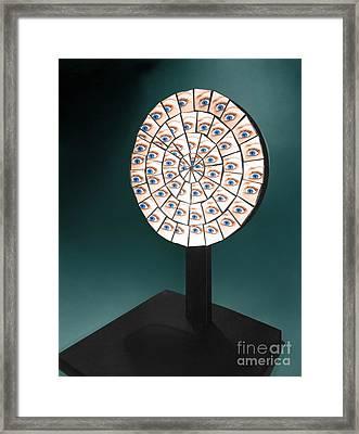 Parabolic Mirror Framed Print