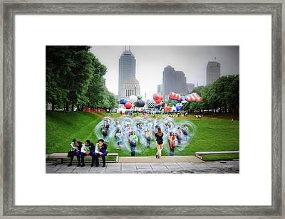 Parade Prep Framed Print by Steven Llorca