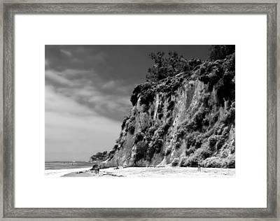 Paradise Cove Framed Print by April Reppucci