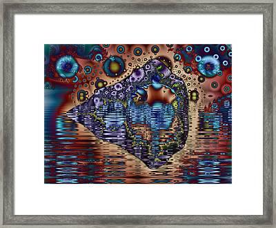 Paradise Island Retreat Framed Print