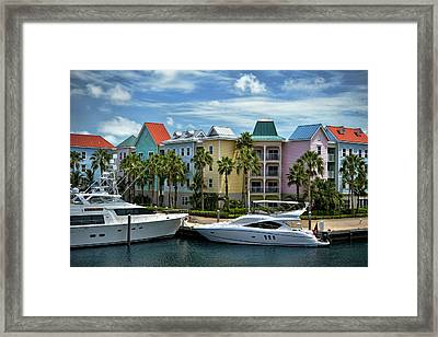 Framed Print featuring the photograph Paradise Island Style by Steven Sparks