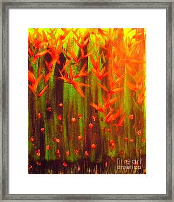 Paradise Jungle Framed Print