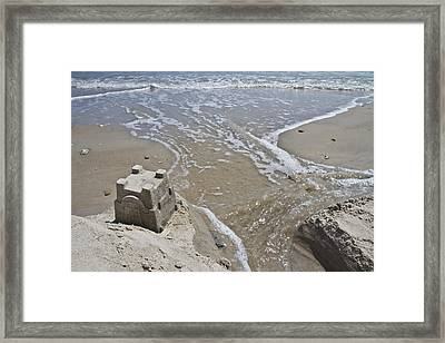 Paradise Lost And Found Framed Print by Betsy Knapp