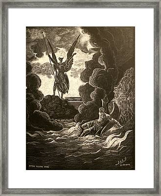 Paradise Lost No.12 Of 39 Framed Print by Miguel Rodriguez