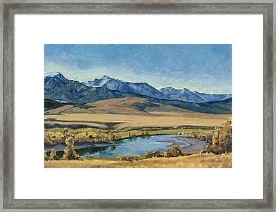 Paradise Valley Framed Print