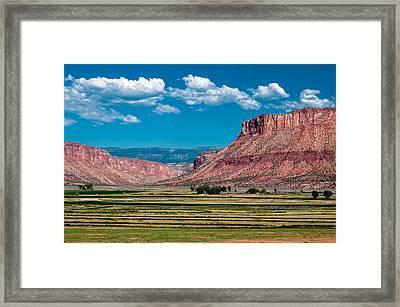 Paradox Valley One Framed Print by Josh Whalen