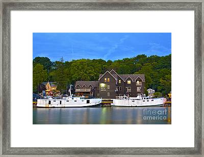 Parallel Parking Only Framed Print by Gordon Wood