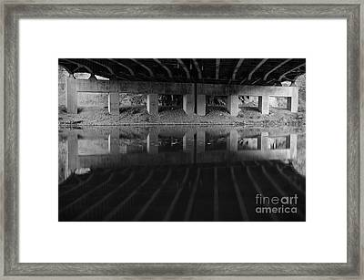 Parallel Universe Framed Print by Luke Moore