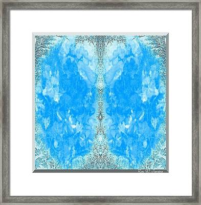 Framed Print featuring the mixed media Parallel Universe  by Ray Tapajna