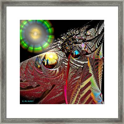 Parallel Worlds Framed Print by Michael Durst