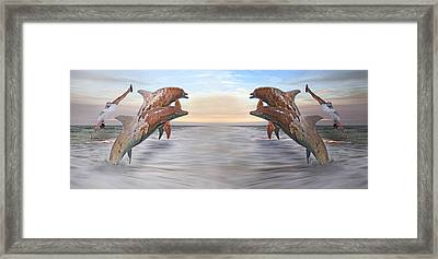 Parallels  Framed Print by Betsy Knapp