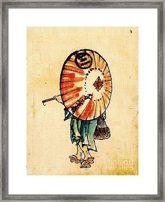 Parasol 1840 Framed Print by Padre Art
